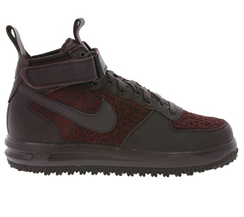 Nike Dames Lf1 Flyknit Workboot Hi Top Boots Sneakers 860558 Sneakers Deep Burgundy 600