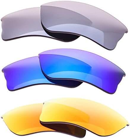 LenzFlip Oakley QUARTER JACKET Polarized Lens Replacement - Multiple Options