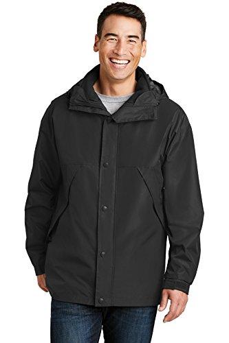 Port Authority 3-in-1 Jacket-XL (Black/Black)