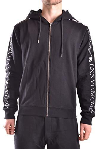 MCQ by Alexander McQueen Men's 441386Rjt221090 Black Cotton Sweatshirt