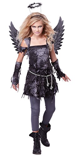 Costumes Halloween Spooky (California Costumes Spooky Angel Tween Costume,)