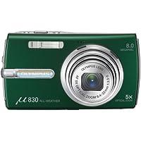 OLYMPUS digital camera μ830 British Green Japan model
