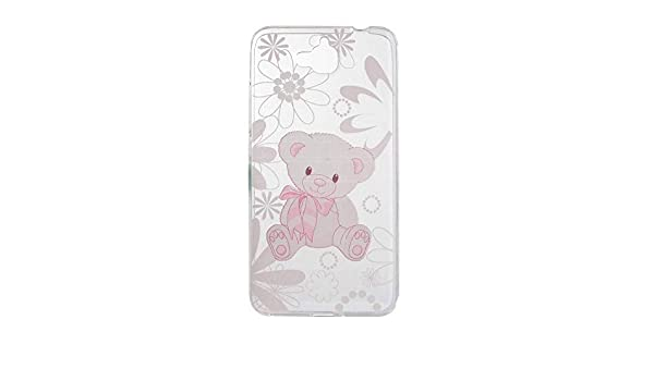 Amazon.com: Cartoon Flower Butterfly Bear Tree Cute Back Cover Silicon Gel Soft TPU Mobile Phone Case for Huawei Y6 PRO Coque Honor 4C Pro +,10,for Huawei ...