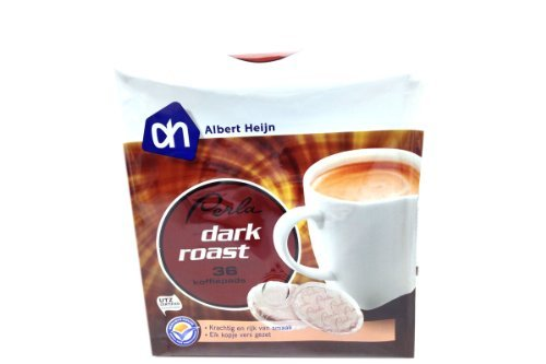 perla-cafe-coffee-pads-dark-roast-882oz-pack-of-6-by-albert-heijn