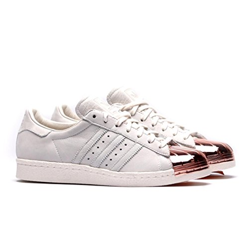 los angeles 7d76f 2aec0 ... order adidas superstar 80s metal toe baskets mode pour homme blanc off  white rose gold blanc