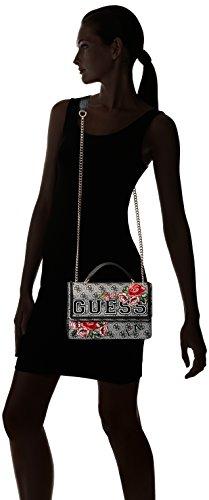 bkf Bolso 25 Bandolera Floral black 5x16x7 Mujer Vikky Guess L X Para w Multicolor Centimeters H fxqgRZ5Cw