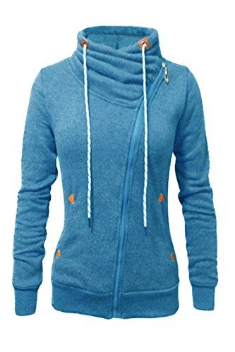 PinkWind Oblique Fleeces Sweatshirt Hoodies