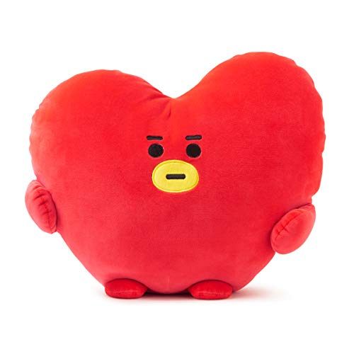 BT21 Official Merchandise by Line Friends - TATA Character Pong Pong Cushion 11.8 Inches