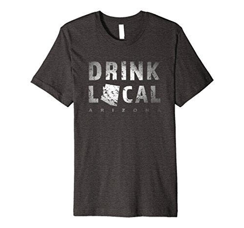 Mens Drink Local Arizona Craft Beer Az Copper State Tee Xl Dark Heather
