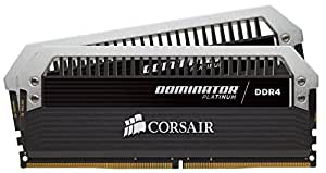 Corsair Dominator Platinum Series 16GB (2 x 8GB) DDR4 DRAM 3000MHz C15 Desktop Memory Kit (CMD16GX4M2B3000C15)