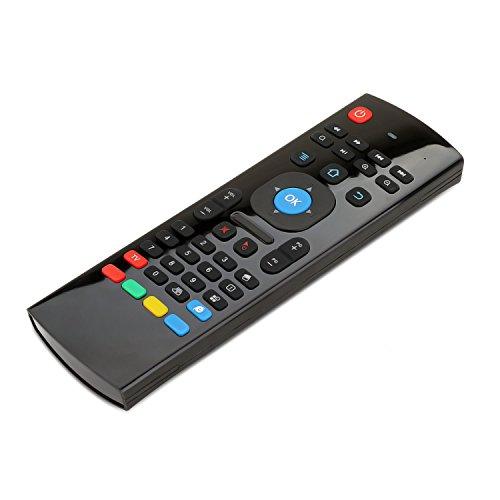 63bd90c6bf1 Novanco MX3 Pro 2.4G Kodi Remote Control, Programmable, Mini Wireless  QWERTY Keyboard Air