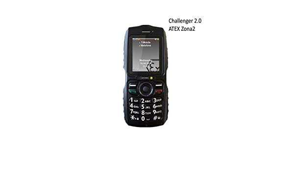 Movil ATEX i.Safe Challenger 2.0 telefono antideflagrante ATEX ...