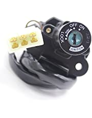 FXCNC Racing Motorcycle 6-holes 7-Wire Ignition Switch Lock With Keys Compatible with Ninja 250R,ZX-9R (ZX900R) 1994-1996,ZX6R (ZX600G1) (600cc) 1998