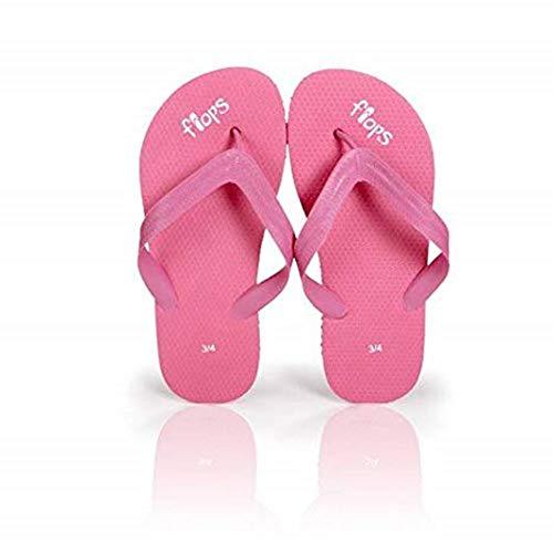 Children's Bubblegum Flip Flops by Planet Flops, Kid's 3-4