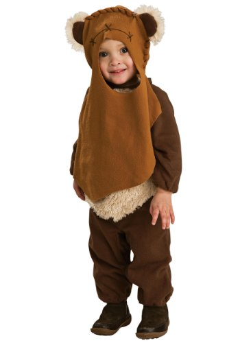 Rubie's Little Boys' Toddler Ewok Costume S (4T) Brown -