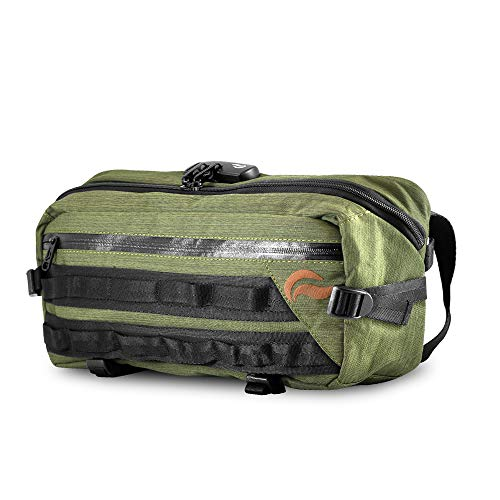 Green w Combo Smell Lock Proof Sling Skunk Bag Zq0wRO