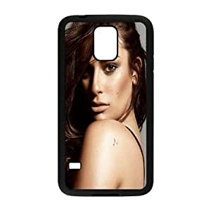 Samsung Galaxy S5 Cell Phone Case Black Lea Michele SUX_037378