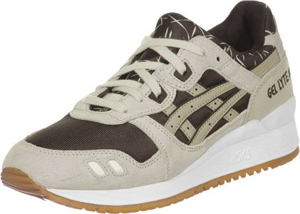 Dark Chaussures W Gel 0 Asics Lyte Iii sand 7 Brown FAIOq