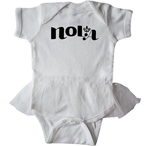 Inktastic - New Orleans, Louisiana Infant Tutu Bodysuit 24 Months White (White Tutu Party City)