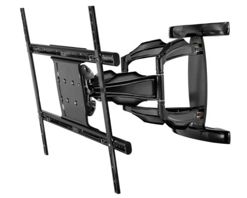 Peerless Full-Motion Plus Wall Mount for 50-Inch - 80-Inch Flat Panel Screens (Black) by Peerless-AV