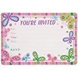 Amazon Com Butterfly Invitations Cards Party Supplies Toys