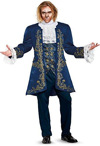 Oompa Loompa Halloween Costumes Adults (Disney Men's Plus Size Beast Prestige Adult Costume, Blue, X-Large)