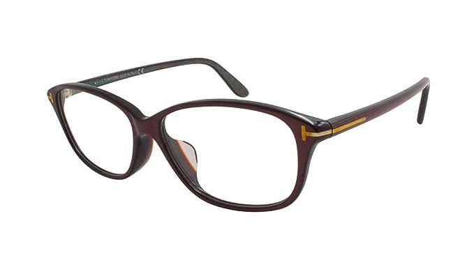 6b27ff2cc1 Amazon.com  Tom Ford Women s Optical Frame Plastic Dark Purple ...