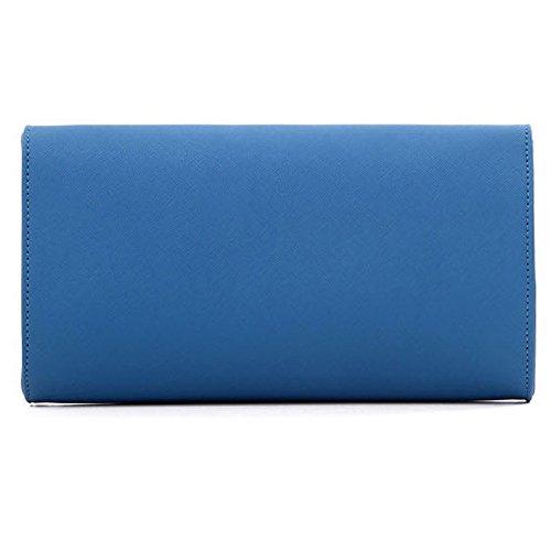 Mano De Unyu Para Evening Clutch Mujer Multicolor Azul Cartera xqxSZB