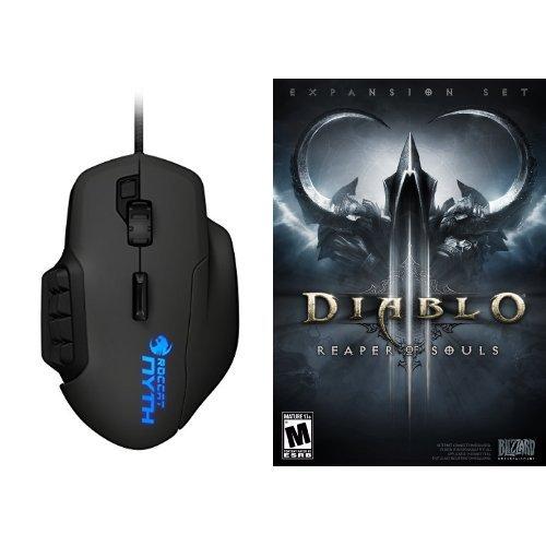 Diablo III: Reaper of Souls - PC/Mac [Digital Code] and Mouse Bundle (Diablo 3 And Reaper Of Souls Bundle)