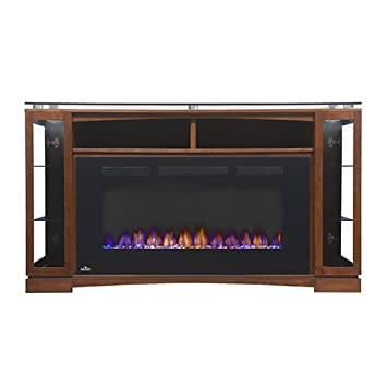 Amazon.com: Napoleon The Shelton 60 in. Electric Fireplace Entertainment Center: Home & Kitchen