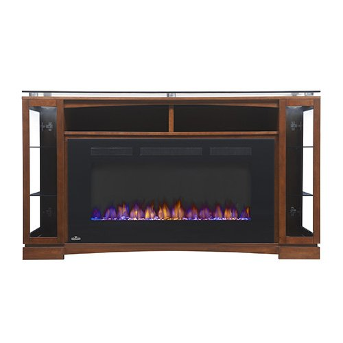 Napoleon The Shelton 60 in. Electric Fireplace Entertainment Center