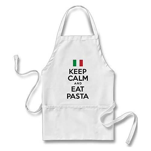 Italian Cook Costume (Keep Calm And Eat Pasta Apron)