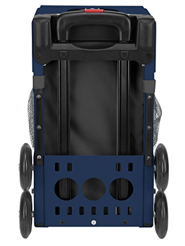 Zuca Into the Woods Sport Insert Bag and Navy Blue Frame with Flashing Wheels by ZUCA (Image #3)'
