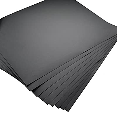 """5 Sheets -Grit 1200 Waterproof Paper 9""""x11"""" Wet/dry Silicon Carbide"""