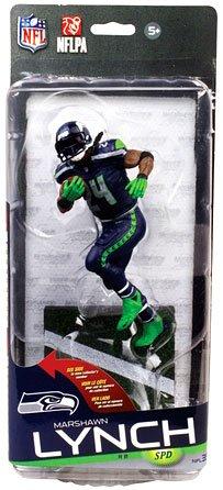McFarlane Toys NFL Seattle Seahawks Sports Picks Series 35 Marshawn Lynch Exclusive Action (Mcfarlane Sports Picks)