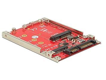 DeLOCK 6 35 cm 2 5 Inch Converter SATA 22 Pin > M 2 mSATA with Frame