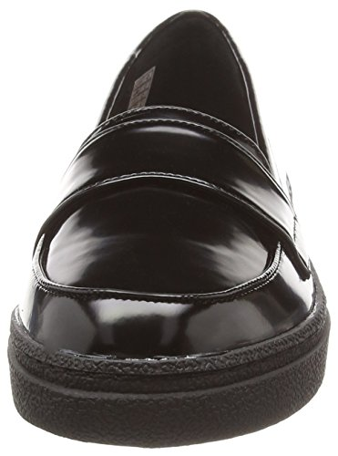 Rocket Dog Verdugo - Mocasines para mujer Negro (Boxed In Black)