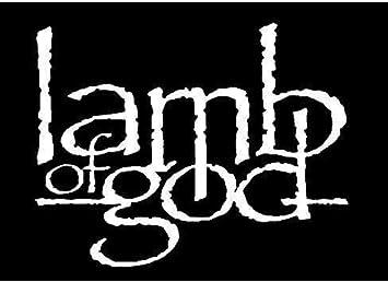 Lamb God White Bands Automotive Decal//Bumper Sticker