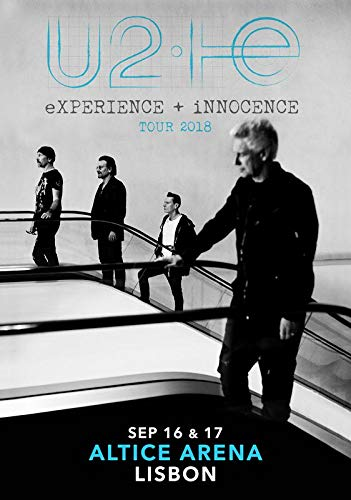 U2 Experience + Innocence 2018 Tour Altice Arena Lisbon, used for sale  Delivered anywhere in Canada