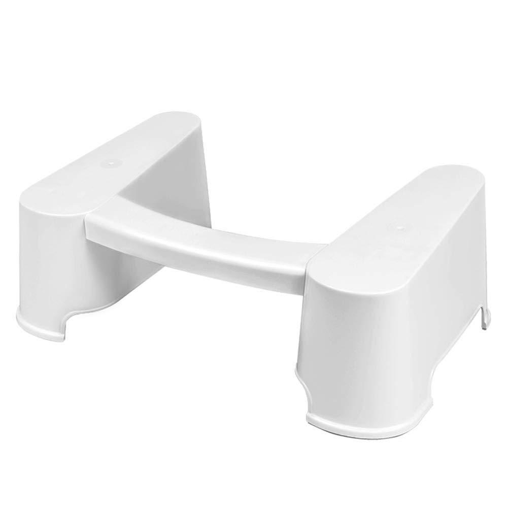 Detachable Toilet Stool - Bathroom Step Up Stool for Relieves Constipation Bloating Portable Footstool by HB Toilet Stool
