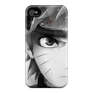 Defender Case For Iphone 4/4s, Naruto Uzumaki Pattern