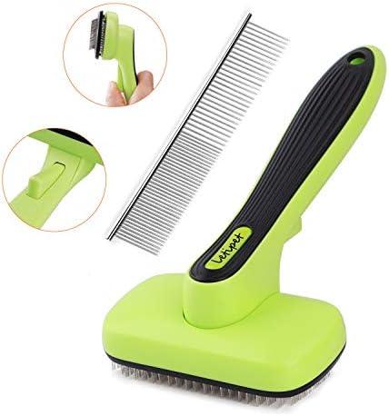 Brush Grooming Cleaning Slicker Metal