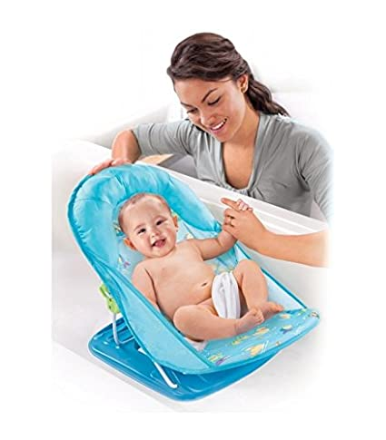 Hamaca bañera bebe Summer Infant Plegable Peces: Amazon.es: Bebé