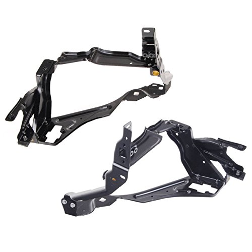 Right Headlight Support Bracket Kit for Mercedes Benz W204 C250 C300 C350 ()