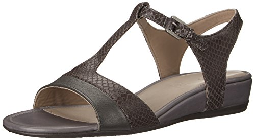 Ecco Footwear Womens Touch 25 Strap Dress Sandal, Dark Shadow, 41 EU/10-10.5 M US (One Strap Sandal)