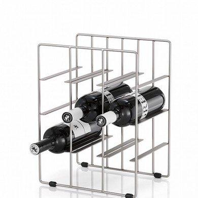 Blomus Pilare Wine Rack - Choose 9 or 12 Bottle Rack by Blomus