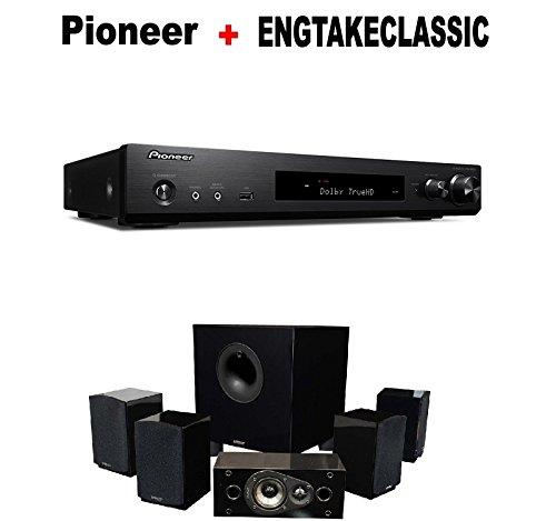 slim audio component receiver