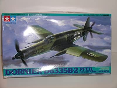 """Tamiya Dornier Do335B-2 ""Pfeil"" Aircraft---Plastic Model Kit ""Limited Time Sale Price"""