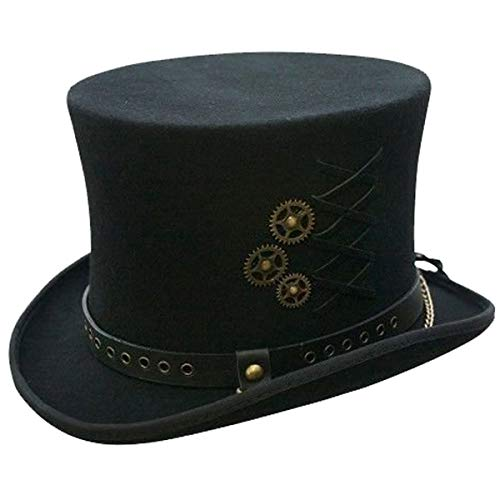 Top Hat Construction (SteamPunk Top Hat Black Large)