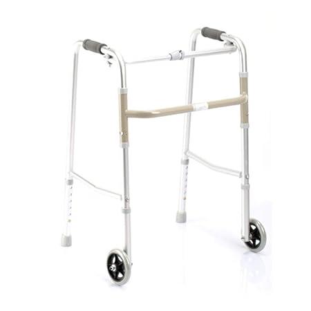 MXueei caminante Andador de Aluminio Que estira el Andador Viejo ...